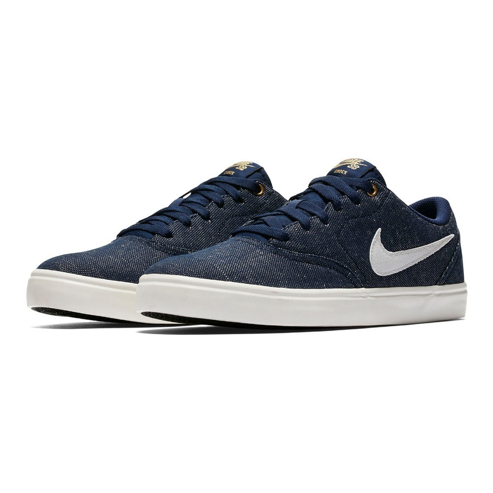c4b9d7b7a Zapatillas Nike Sb Negras Check Azules Originales Hombre -   1.999 ...