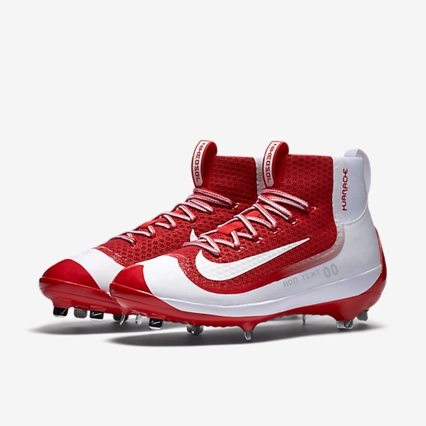 check out f932b 646d6 norway nike huarache 2k filth spikes beisbol rojo blanco remate 1900a 5bf86