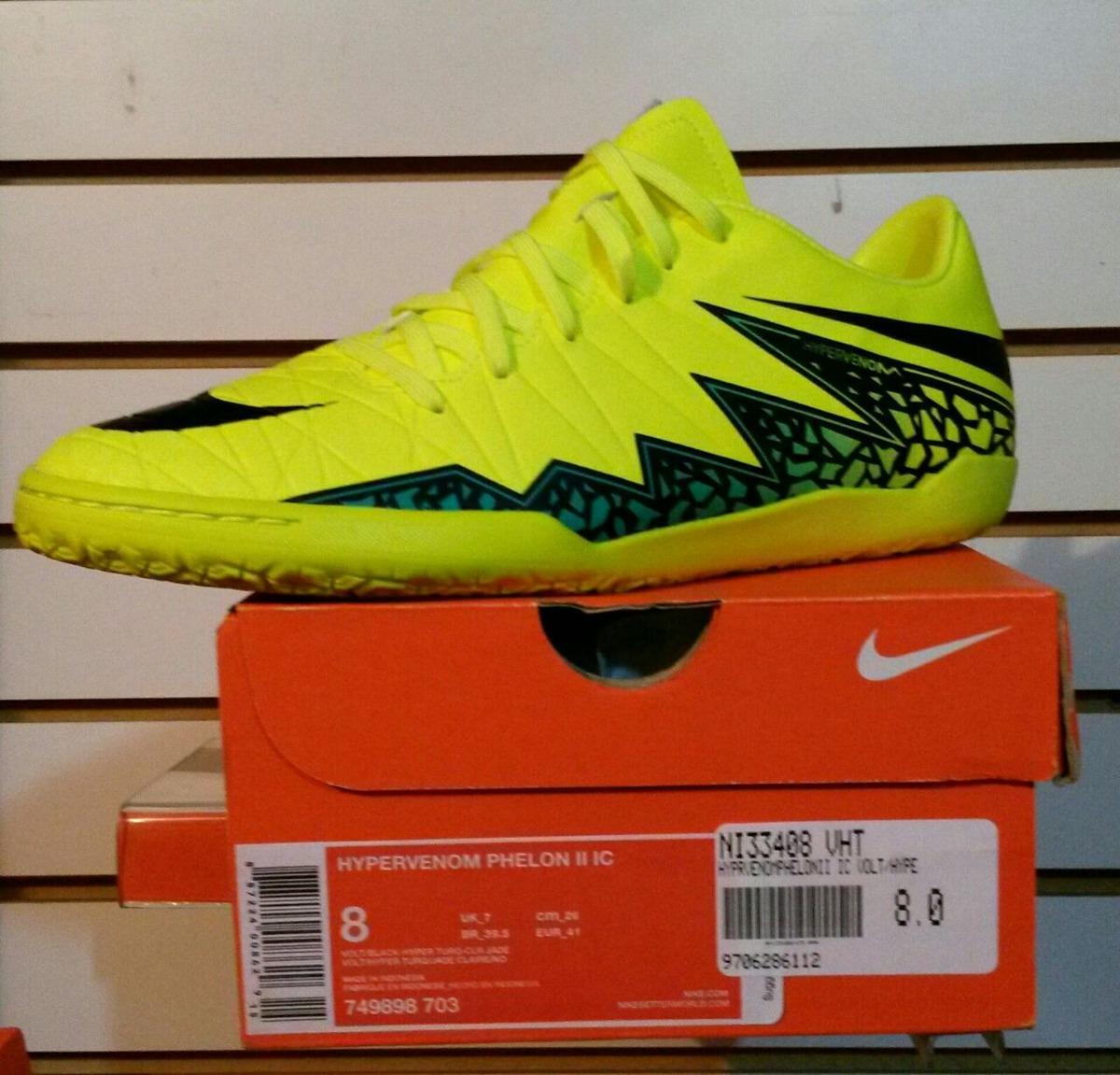 huge discount 6e61c 71c37 Nike Hypervenom Phelom Torretin +gratis Kappa 100%originales ...
