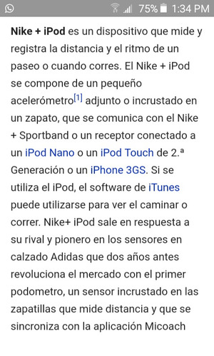 nike ipod sport kit sensor original de u.s.a sellado