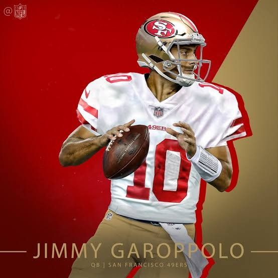 Nike Jimmy Garoppolo White San Francisco 49ers Game T M -   1 a92744f8f