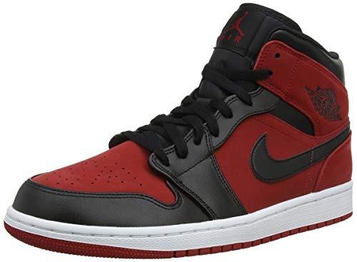 f81fc5c2d6c7 Mlc nike jordan mens air retro basketball shoe redblac jpg 500x368 Retro  nike basketball shoes