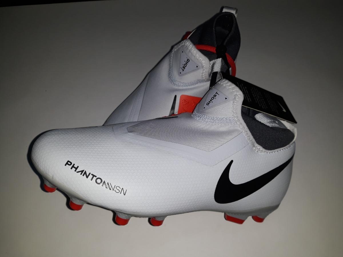 Calzado de fútbol para múltiples superficies para niños talla pequeñagrande Nike Jr. Phantom Vision Academy Dynamic Fit MG