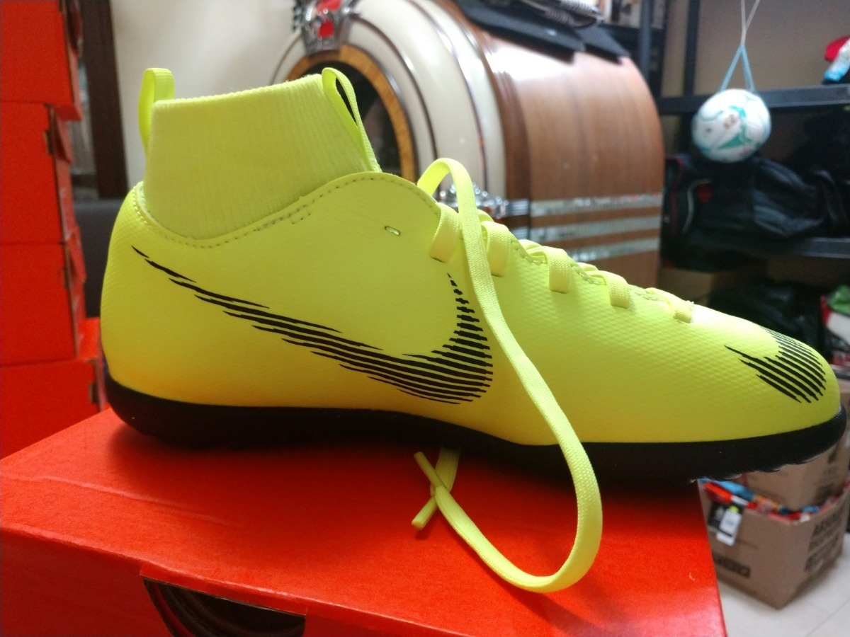 286d05c19ec67 nike - junior mercurial superfly 6 club tf para niño. Cargando zoom.