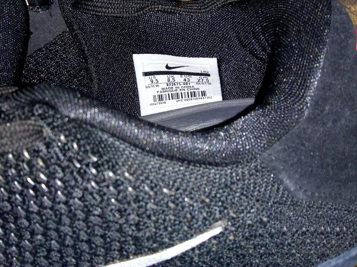 purchase cheap efaa8 f85e2 Nike Kobe 11 Elite Low Black Space Único Par Sin Caja #27.5