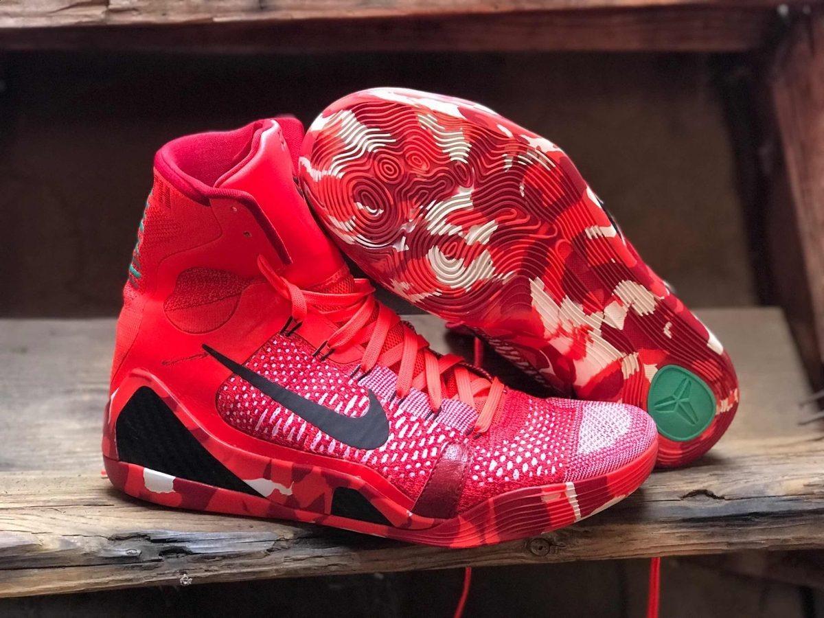 wholesale dealer fedcf e7459 Nike Kobe 9 Elite Christmas Número 12us