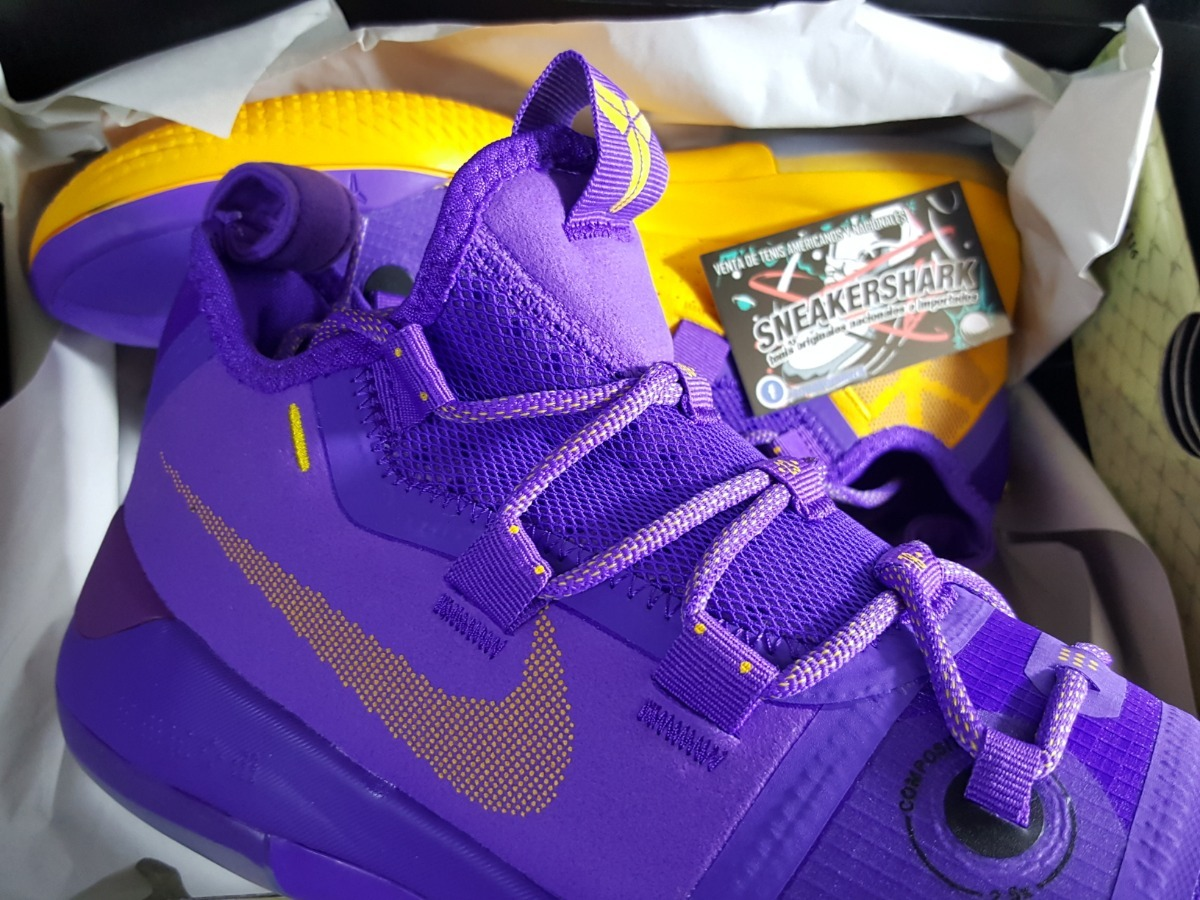official photos 6c7a3 711eb Nike Kobe Ad Lakers Purple Envio Inmediato Gratis