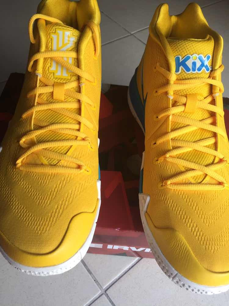 newest b0101 0590c Nike Kyrie 4 Cereal Pack kix
