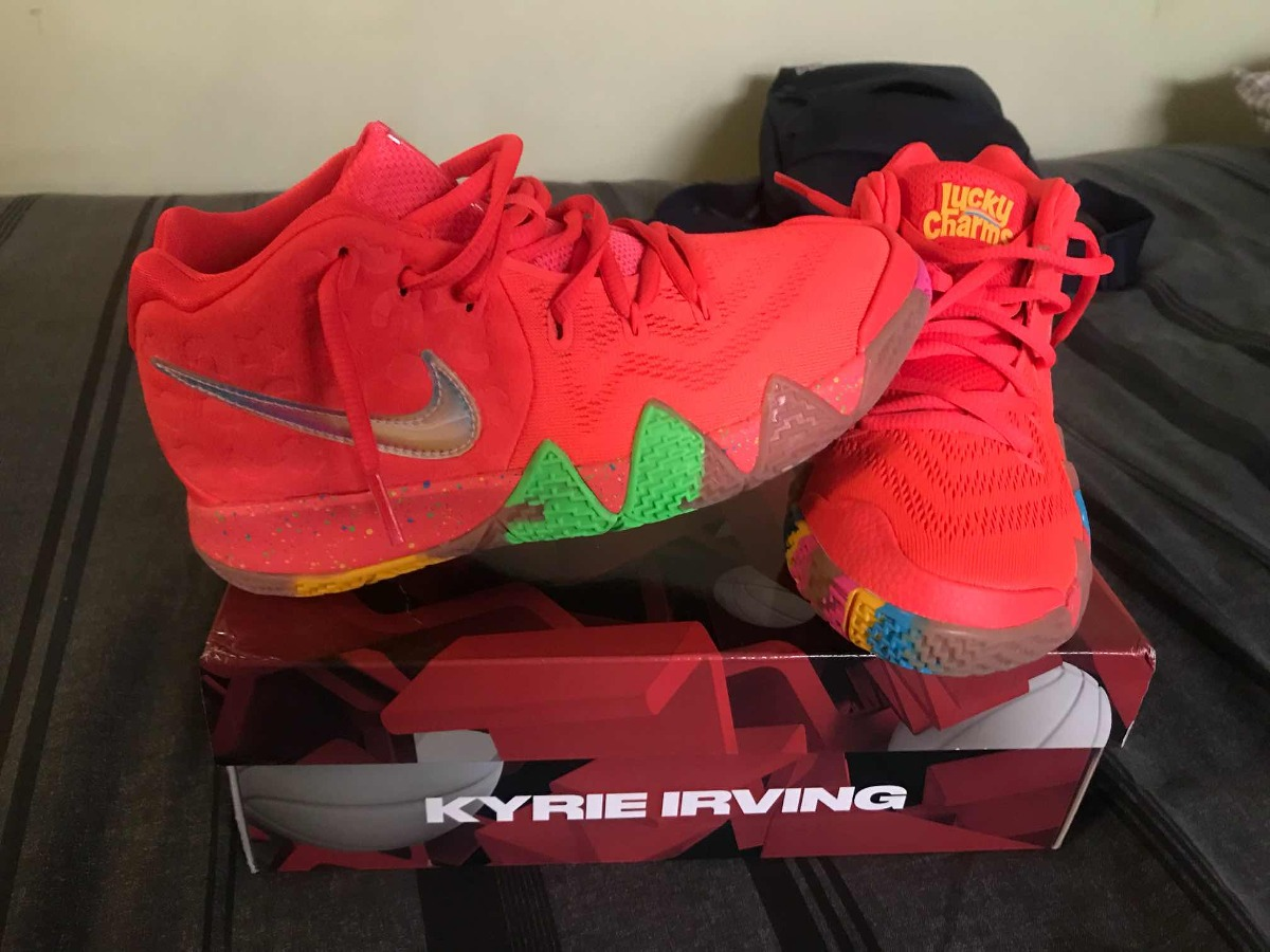 best sneakers 6531a 57313 Nike Kyrie 4 Edición Lucky Charms