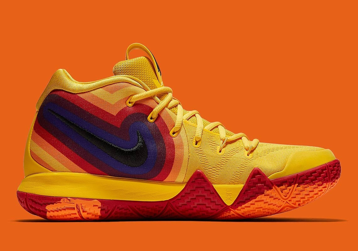 new arrivals 807c6 75a1c Nike Kyrie 4 Gs 4 70s Mujer Basquetbol Mayma Sneakers