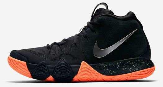 96daea997 low cost nike kyrie 4 negro naranja basketball 67982 c0855