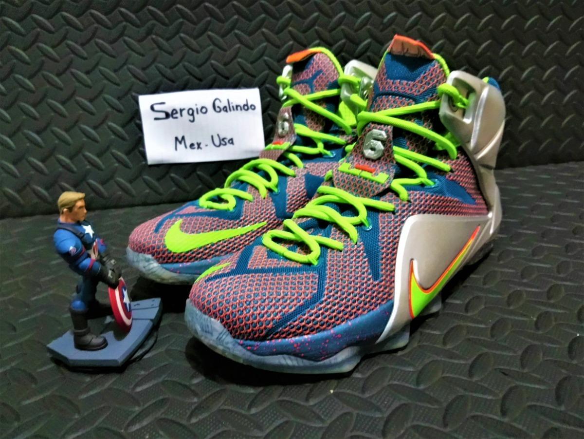 6d9faae70f0c6 Nike Lebron 12 Prm'trillion Dollar Man'705410-430(zeronduty) - $ 2,999.00