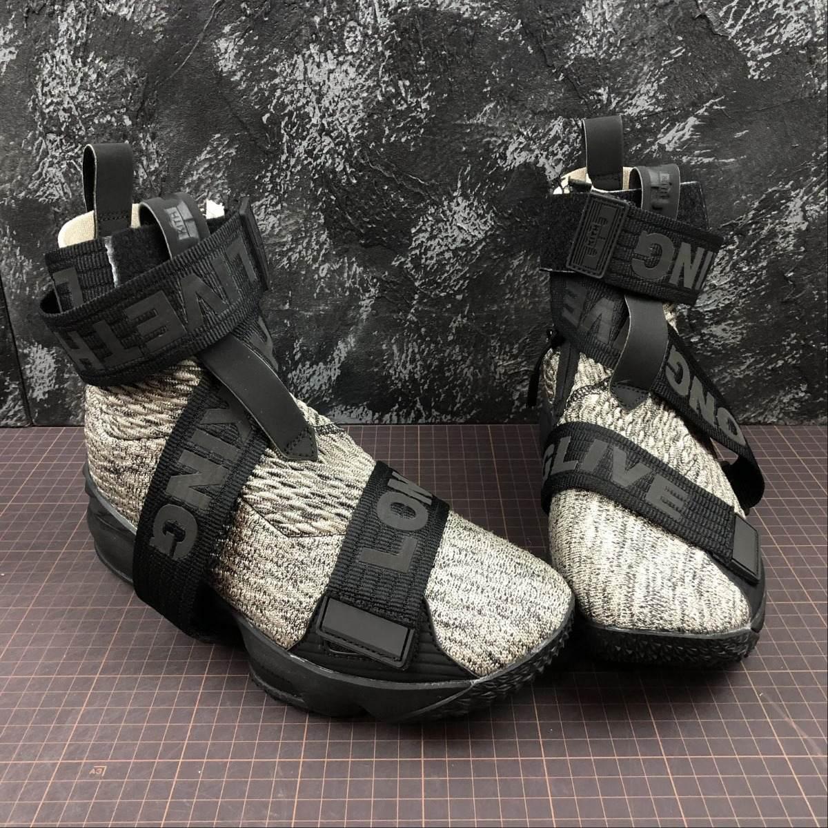 new arrival cb137 6033e Nike Lebron 15 Xv Kith Concrete Original