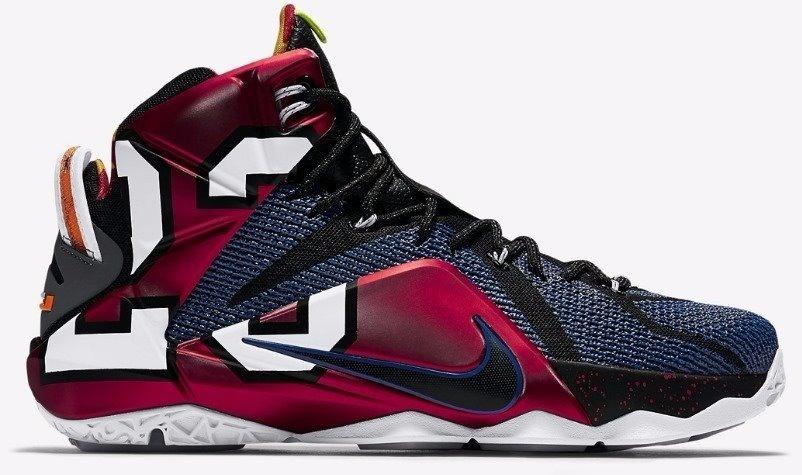 super popular e773c 69fbd Nike Lebron James Xii - 41 Ou 42 - Original - Envio Ja