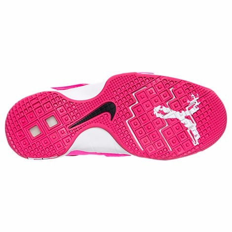 new product beb84 ad1f0 ... new style nike lebron soldier 10 x 2016 rosa c branco frete grátis  52036 8bea1