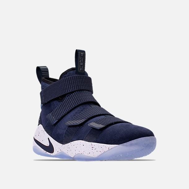 6fb65623ec0 Nike Lebron Soldier 11 College Navy Mayma Sneakers -   2