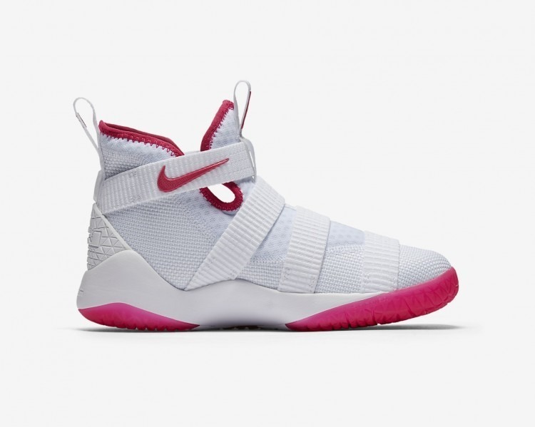 reputable site 7a333 e2fee Nike Lebron Soldier 11 Kay Yow Basquetbol Mayma Sneakers