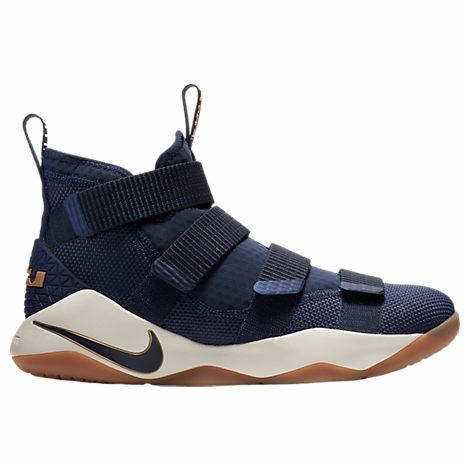 new styles 0e576 923a3 Nike Lebron Soldier 11 Xi 2017 Navy Gum