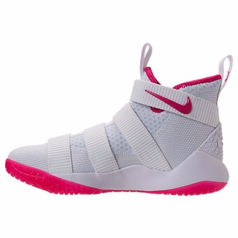cheap for discount dd0f5 995e3 Nike Lebron Soldier 11 Xi 2017 White Pink