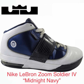 brand new a66c2 4053a Nike Lebron Zoom Soldier 4 midnight Navy