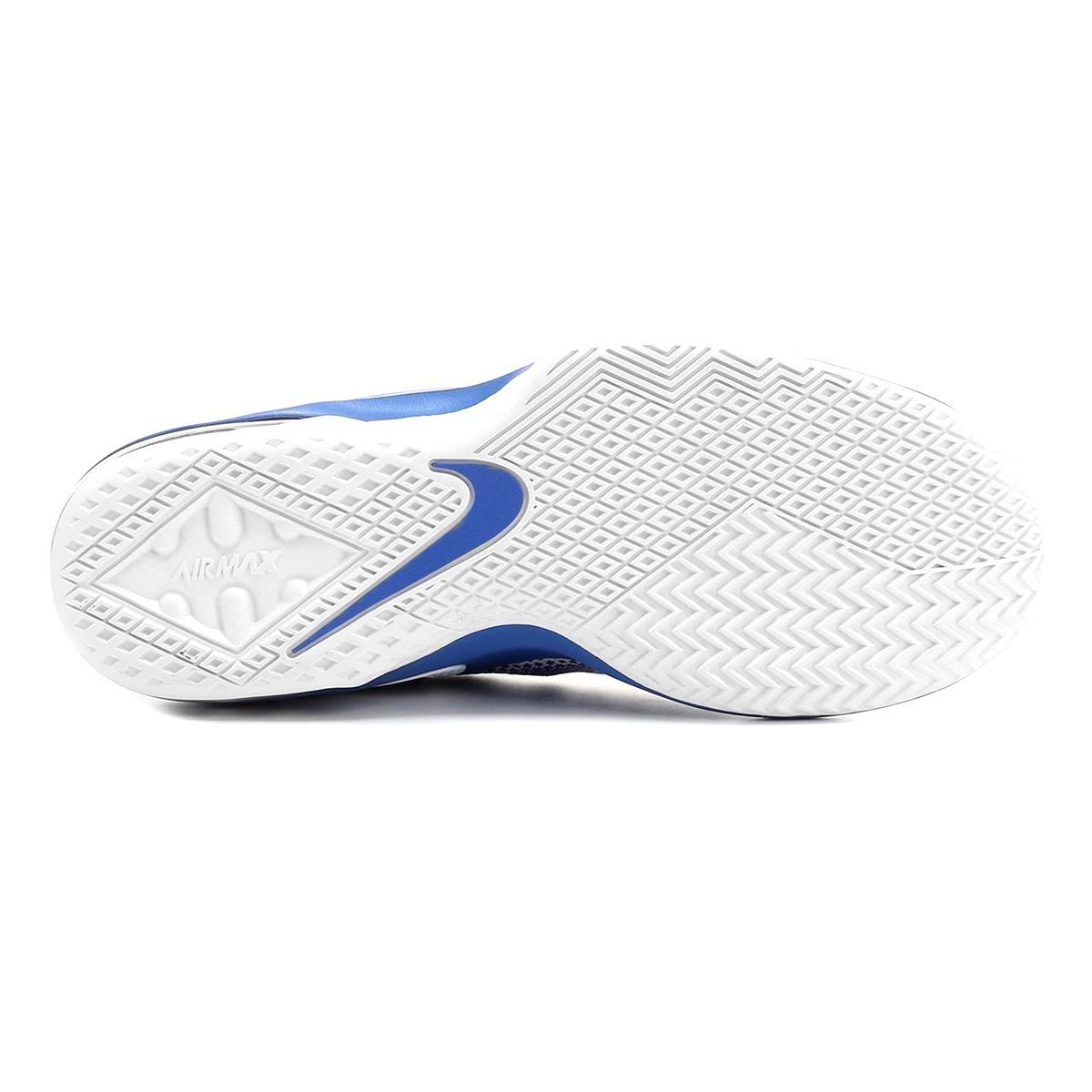 e42c2450d24 Carregando zoom... tênis nike air max infuriate low masculino - branco e  azul