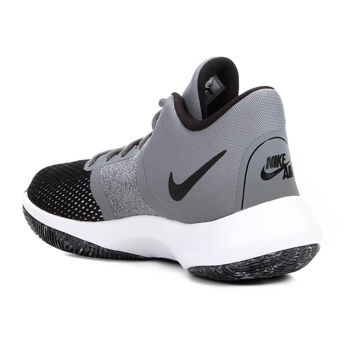 Tênis Nike Air Precision Nbk Masculino Ii - Cinza E Preto - R  289 ... 516d58bd9aff0