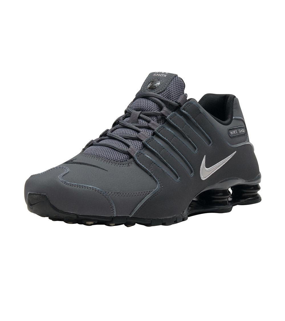 fe9c6db77db2 Tênis Nike Shox Nz Masculino - Grafite preto Pronta Entrega - R  499 ...