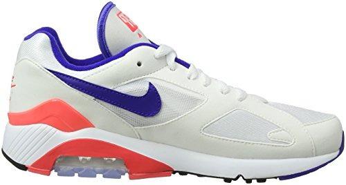 Nike Men S Air Max 180 Blancoultramarinesolar Rojo
