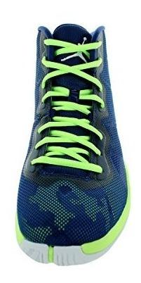 outlet store ec67e 5145b Nike Men's Air Jordan Super.fly 4 Blue/ghost Green/infrare