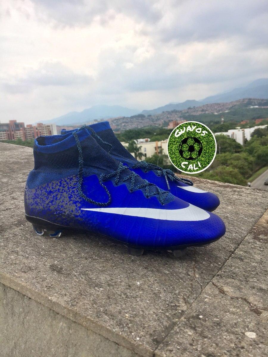 Nike Mercurial Cr7 Azules -   260.000 en Mercado Libre f074f8c55c998