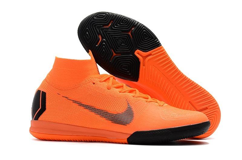 chuteira futsal nike. nike mercurial superfly futsal ic 360 laranja. carregando  zoom. edbda0de0d51f