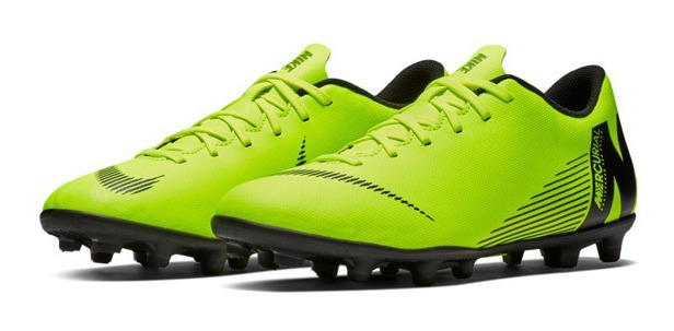 Nike Mercurial Vapor 12 Club Fg Mg Tacos Futbol Hombre Mx 7.5 27.5 Usa 9.5 Nuevos En Caja Originales