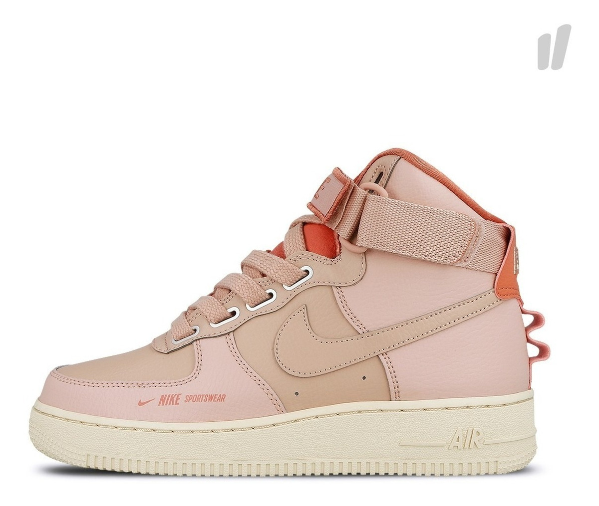 Force 1 Utility Air Pink Mujer Nike High hQtsrdC