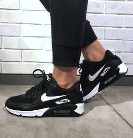zapatillas air max mujer negras