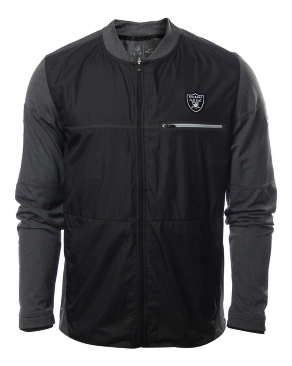 outlet store 2b479 4d5d5 Nike Nfl Oakland Raiders Chamarra Shield Hybrid Original Md4