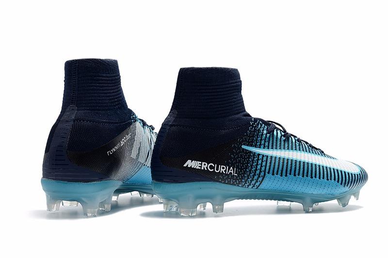 Chuteira Nike Mercurial Superfly V Fg Botinha - Nike Ice - R  349 e7c55417a770b