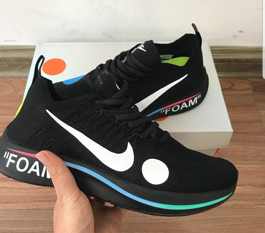 Nike Off White X Zoom Fly Mercurial Flyknit Black - R  800 e8539a74244e1