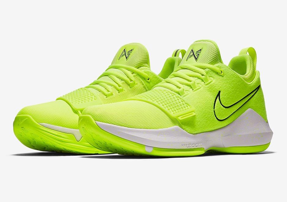 sports shoes 69c32 03701 Nike Pg 1 Volt 26 Mex Lebron Jordan Kd Paul George Kobe
