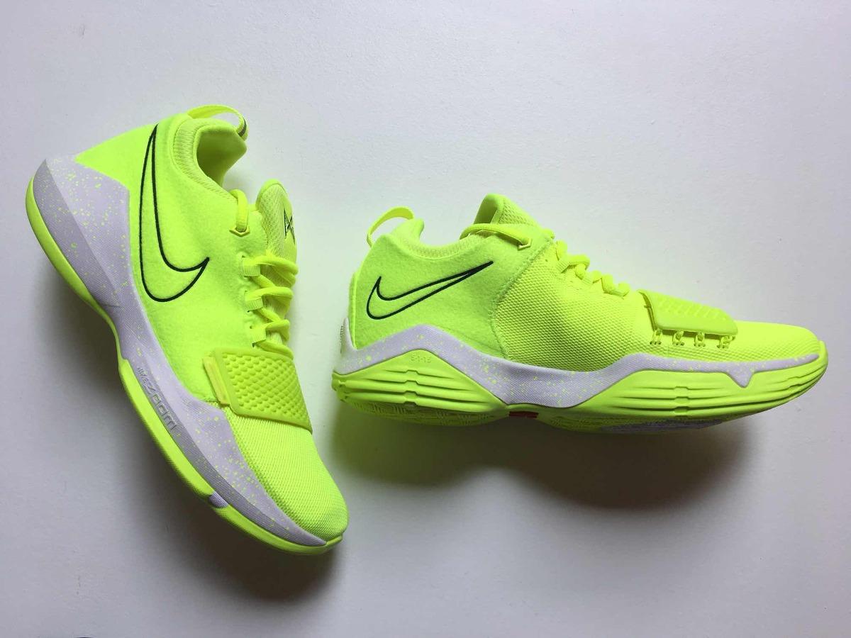 official photos 0acba eae6b Nike Pg 1 Volt 27.5 Mex Lebron Jordan Kd Paul George Kobe