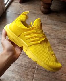 nike presto hombre amarillas