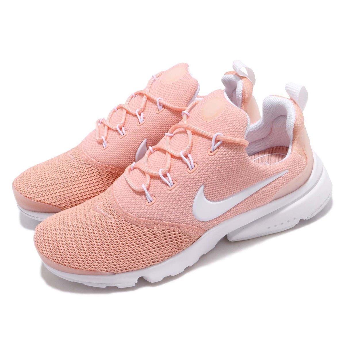 nike free run coral rosado