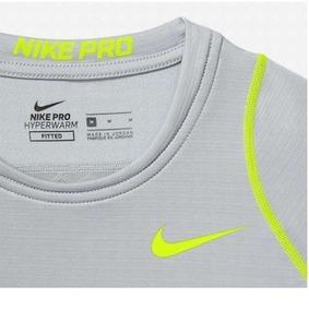 Nike Entrenamiento Camiseta Manga Pro Hyperwarm De Larga u3TF15lKJc