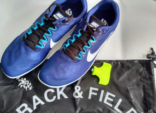 nike racing zoom rival d 10. spikes atletismo
