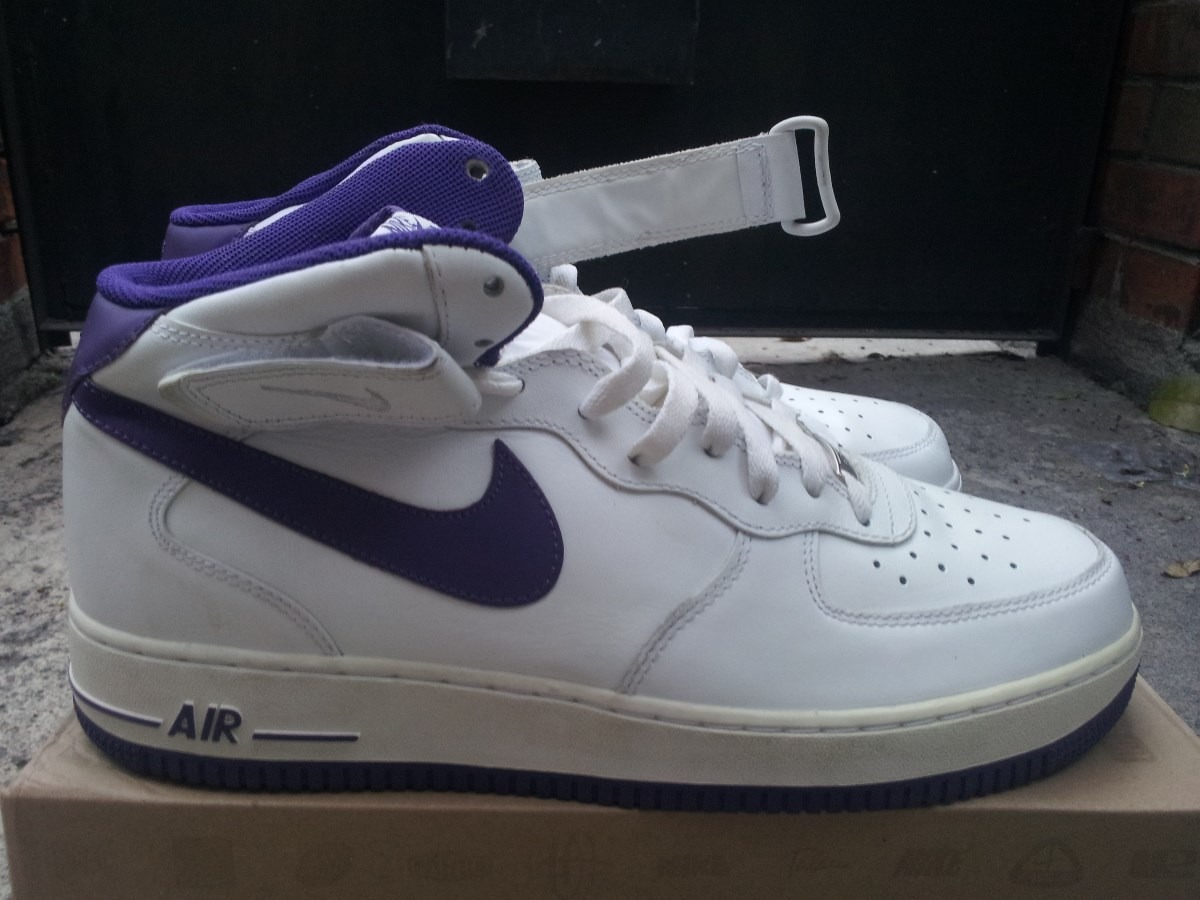 new style 30a29 be6c3 nike retro air force one lakersus11.5 29.5cmkobelebron. Cargando zoom.