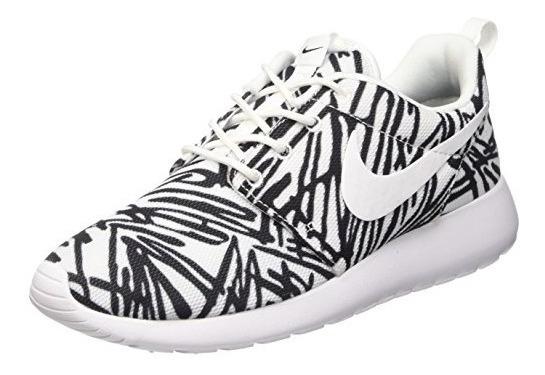 Enriquecer Lionel Green Street Representación  Nike Roshe One Rosheone Zapatillas Con Estampado Color Blanc ...