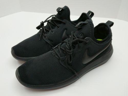 new york 5c386 c0434 Nike Roshe Two 2 Hombres Triple Black Running 844656 001 En ...