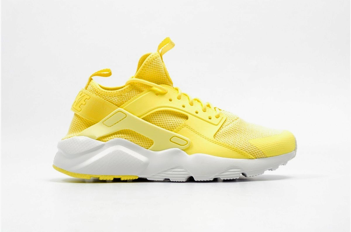 nike huarache amarillo