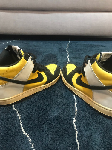 nike sb antigo amarelo com preto