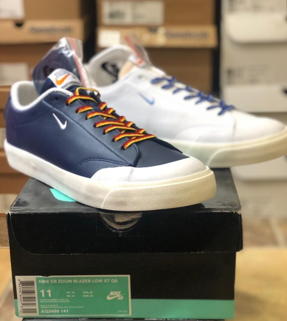 separation shoes 6e557 7200d Nike Sb Blazer Low Xt 'quartersnacks' Originales.