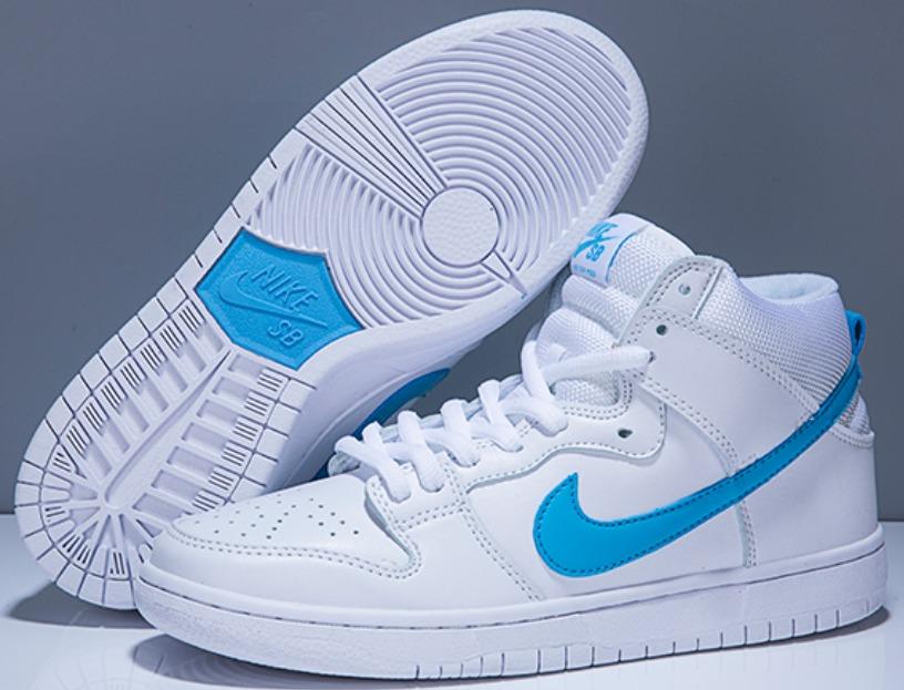 separation shoes de894 e3279 ... white gold 0e525 f30b9 discount code for nike sb dunk low high botitas  edicion limitada blanco cuero. cargando zoom